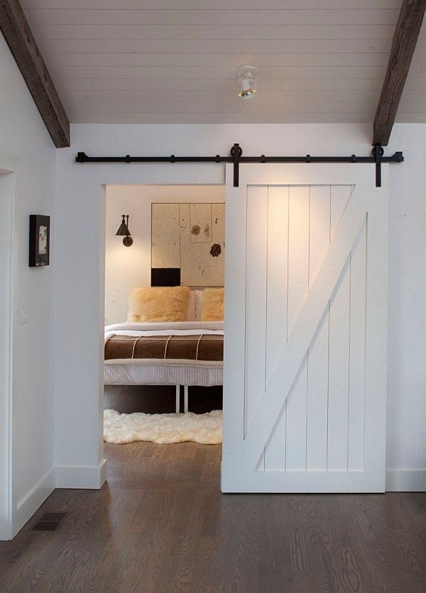 Bungalow Ideas Sliding Farm Door 1st Bedroom Barn