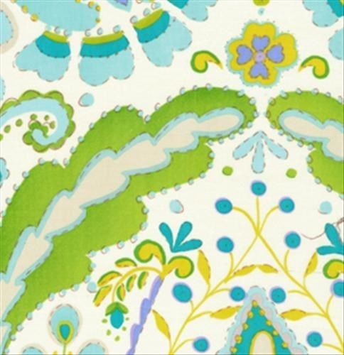 kumari garden fabric dena designs teja in blue df102