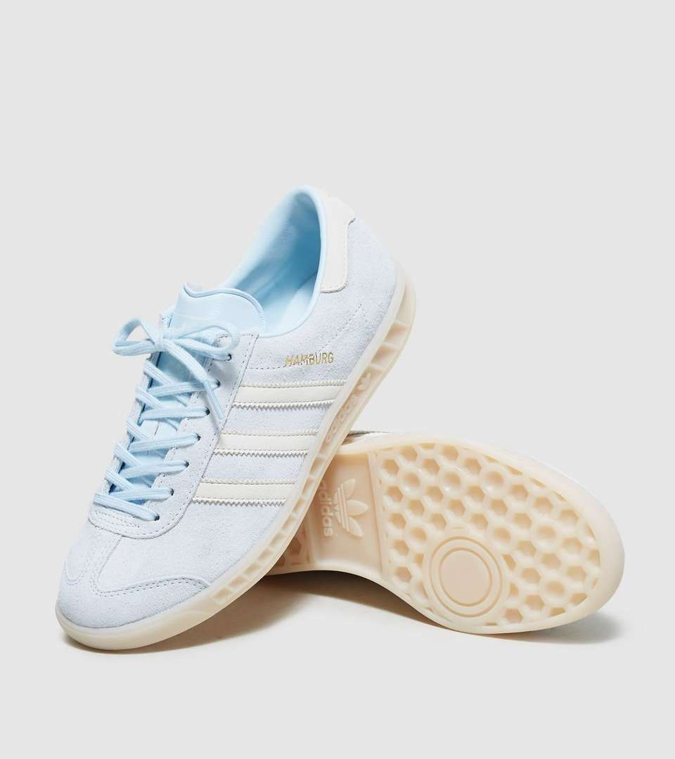 Oral guardarropa Stevenson  adidas Originals Hamburg 'Ice' Womens | Trainers women, Blue adidas, Adidas