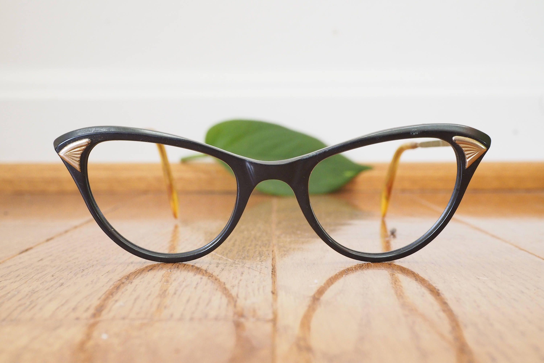 Vintage Eyeglass 1960\'s Cat eye Glasses by American Optical Cateye ...