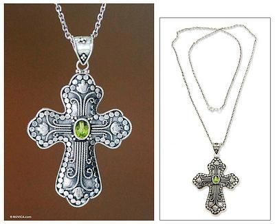 Peridot cross necklace redemption cross necklaces peridot cross necklace redemption mozeypictures Image collections