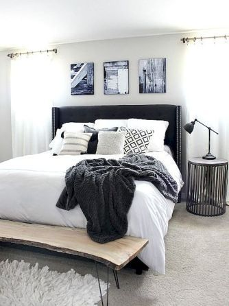 71 Timeless Black And White Bedrooms That Know How To Stand Out