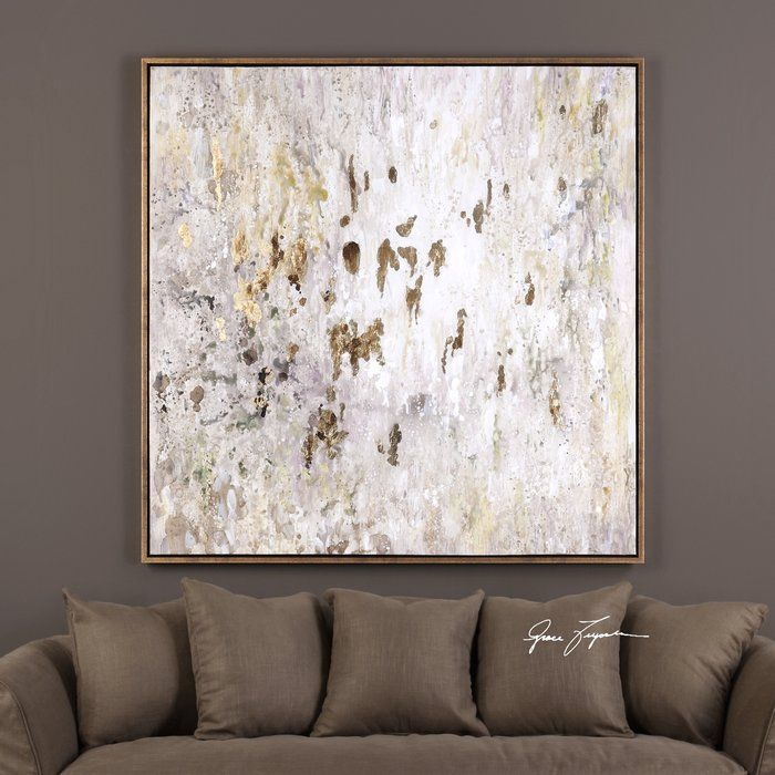 Raindrops\' Modern Abstract Framed Painting Print | Modern Abstract ...
