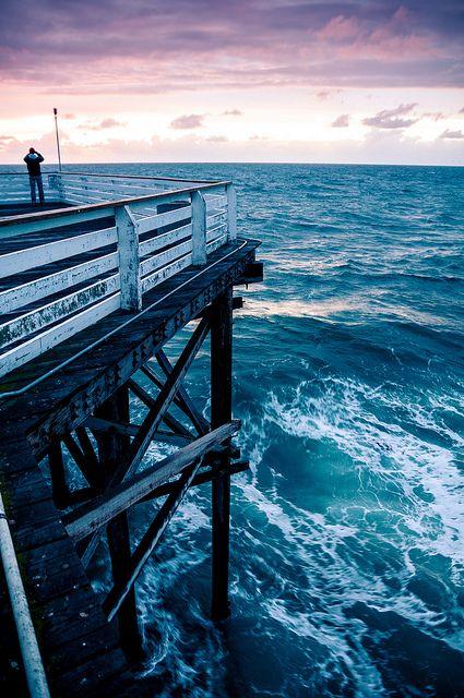 Pier, Pacific Beach, San Diego, Via Flickr.