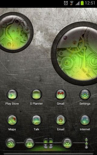 Next Launcher Theme Steampunkg V1 0 Android Theme Android