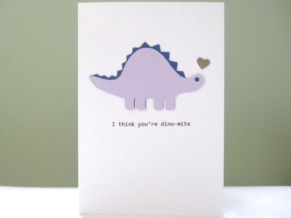 Anniversary cards girlfriend ~ Dinosaur anniversary card funny wedding anniversary card