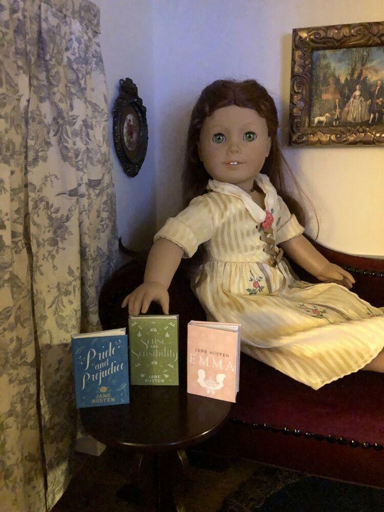 1:3 Scale Mini books Jane Austen Emma for American Girl Samantha