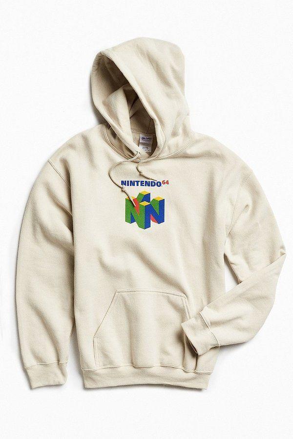 0f8750130fbd Urban Outfitters N64 Hoodie Sweatshirt