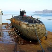 The end of an era. Russian Nuclear Submarine Dismantlement