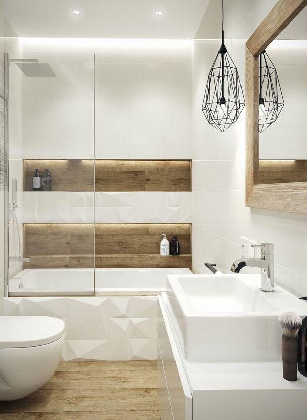 Reformas de baños sin obras | Baños blancos modernos ...