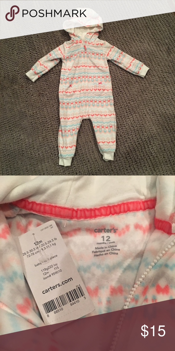 BUNDLED🆕LISTING-Fair Isle One Piece Fleece Romper | Fair isles ...