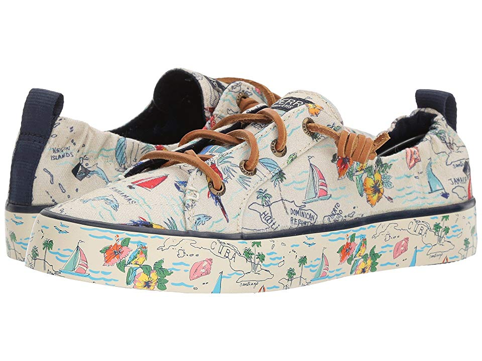 Sperry Crest EBB Map Women's Shoes