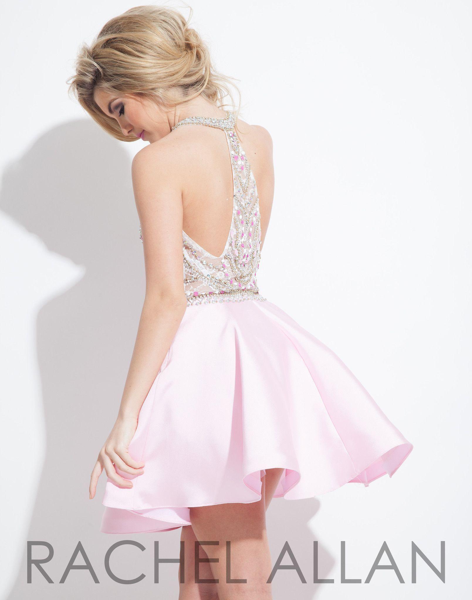 01f8fa2a56b Rachel Allan 4044 Light Pink Homecoming Dress