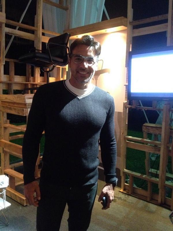Juan Carlos García en el Lounge Decodibo FIA 2014