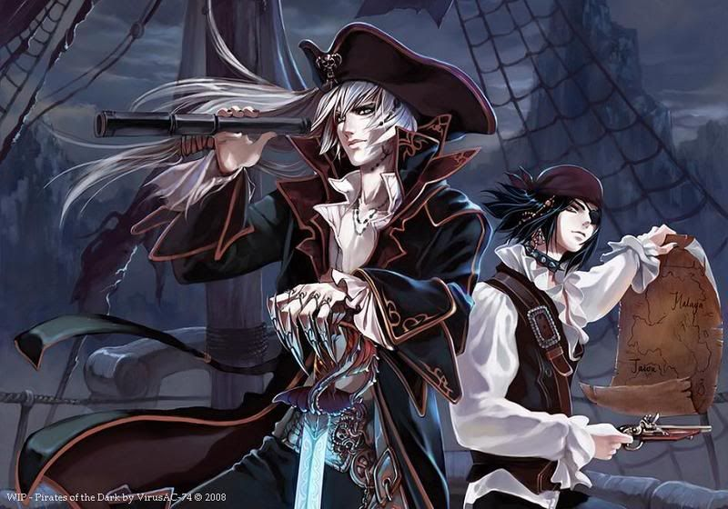 Anime pirate the mysterious island accepting - Anime pirate wallpaper ...