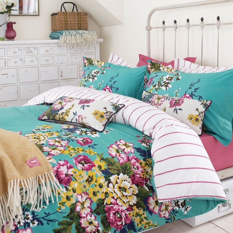 Joules Fl Jade Green Bedding Cambridge At Bedeck Home