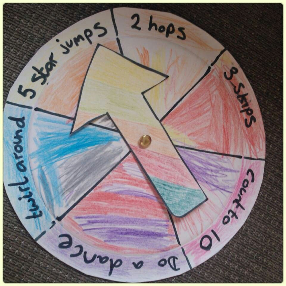 Paper plate spinner for active play (With images) 7
