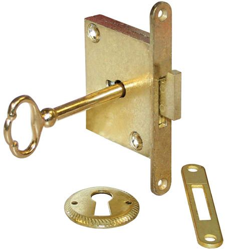 Compx National Cabinet Lock C8384 3 National Full Mortise Chest