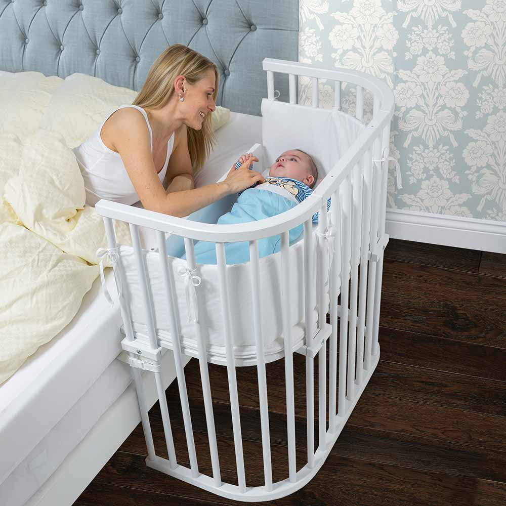 Learn How To Get More Sleep With The Babybay Bassinet Quartos De Bebes Decorados Ideias Para Quarto De Bebe Quarto De Bebe Pequeno