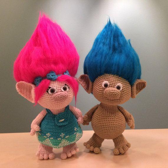 Troll-Häkelanleitung von LittleTumbleFriends auf Etsy | crochet ...