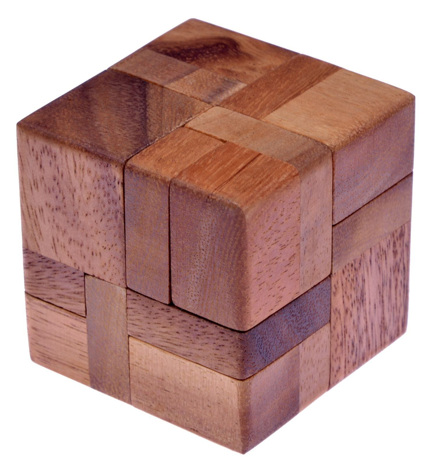 6 Piece Wooden Puzzle 3d Wooden Thing