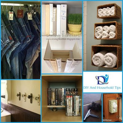 DIY And Household Tips: 30 Creative DIY Hacks to Improve Your Home ...