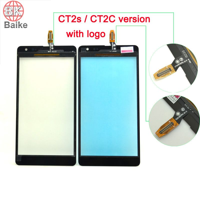 100% getestet lumia 535 touch screen für microsoft nokia lumia 535 touch screen glas digitizer ct2s/ct2c version