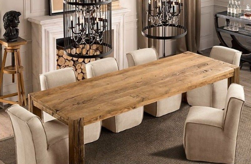 Pin By Jennifer Lockwood On For The Home Narrow Dining Tables Dining Room Small Wooden Dining Tables