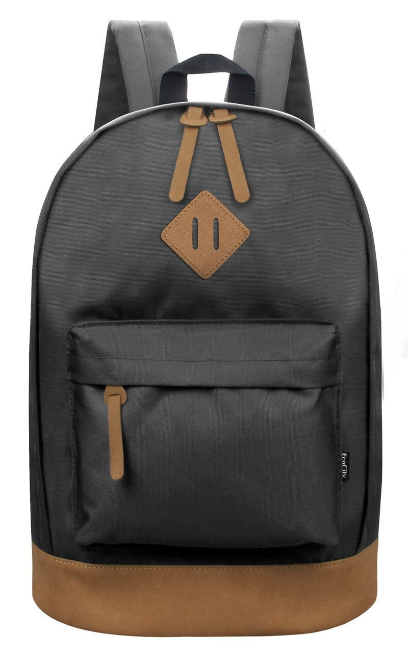 2d9f31b3ee8c EcoCity Classic Backpack For Men Fashion Brand Travel Sports Laptop Back  Pack Women Girls Students Daypack Female Rucksack bags