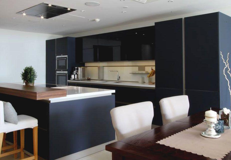 black lava kitchen by next 125 Goettling German Kitchen Design - schüller küchen berlin