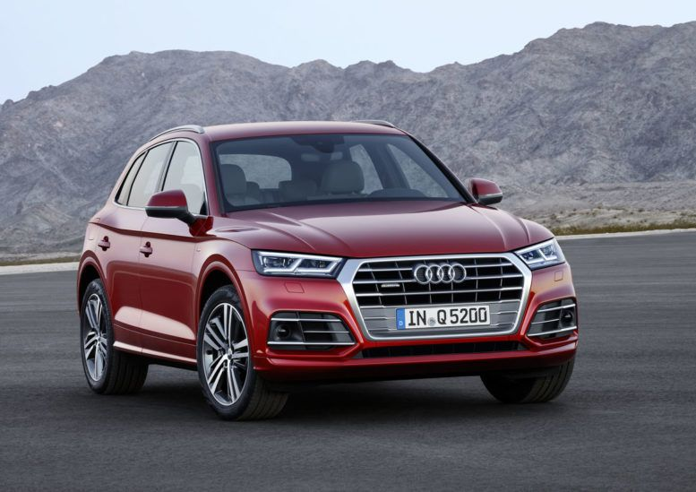 New Off Road Feature With A Higher Ground Clearance Red Audi