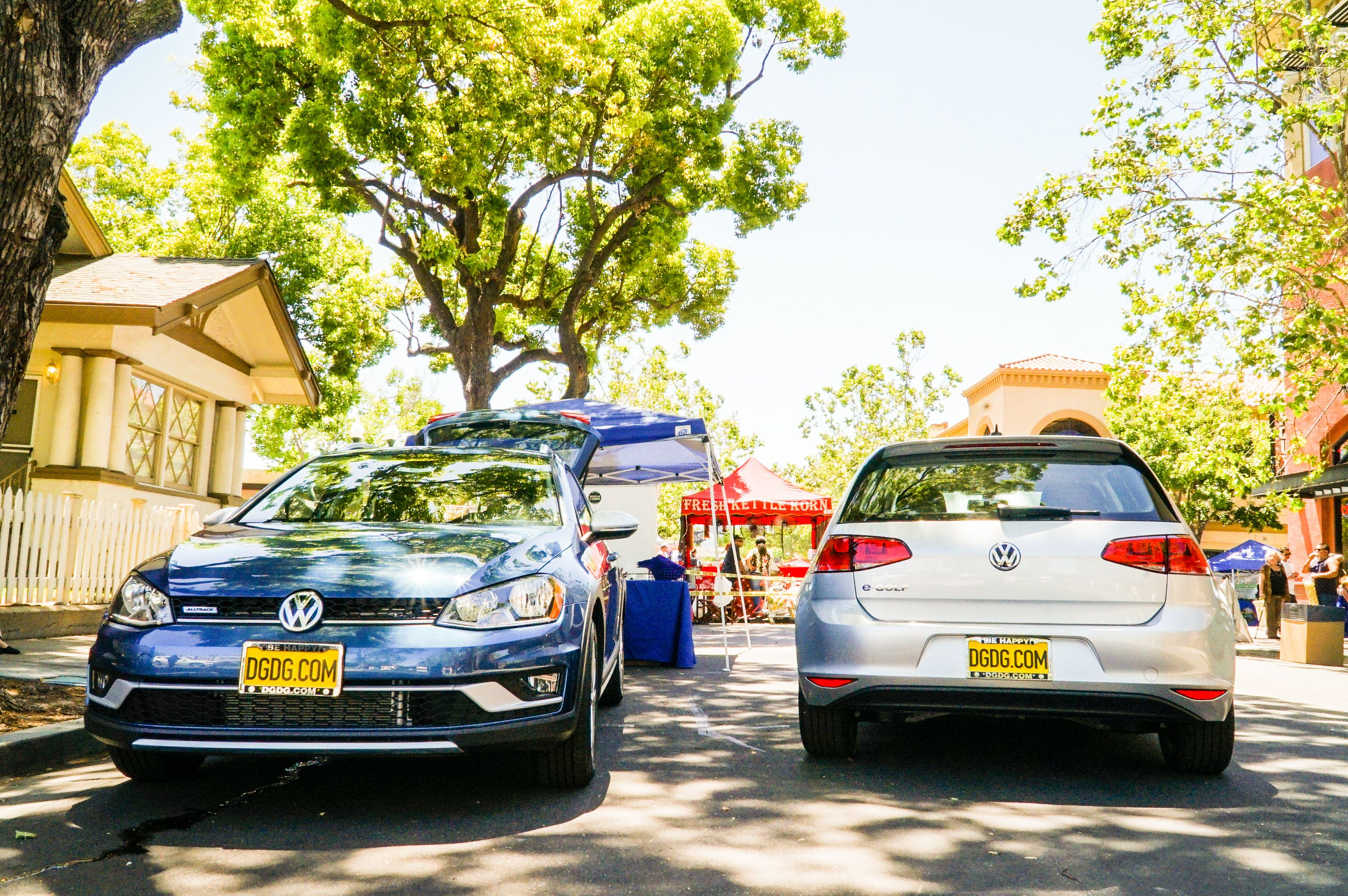 we brought the volkswagen alltrack egolf to downtown campbell s boogiemusic festival volkswagen downtown san francisco bay area pinterest
