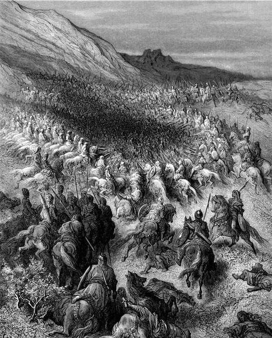 Crusaders_Surrounded by Salah al-Din's Army.jpg (543×675)
