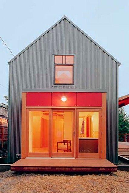Modern Gable Style Homes Metal Siding House Gable Roof Design Roof Design