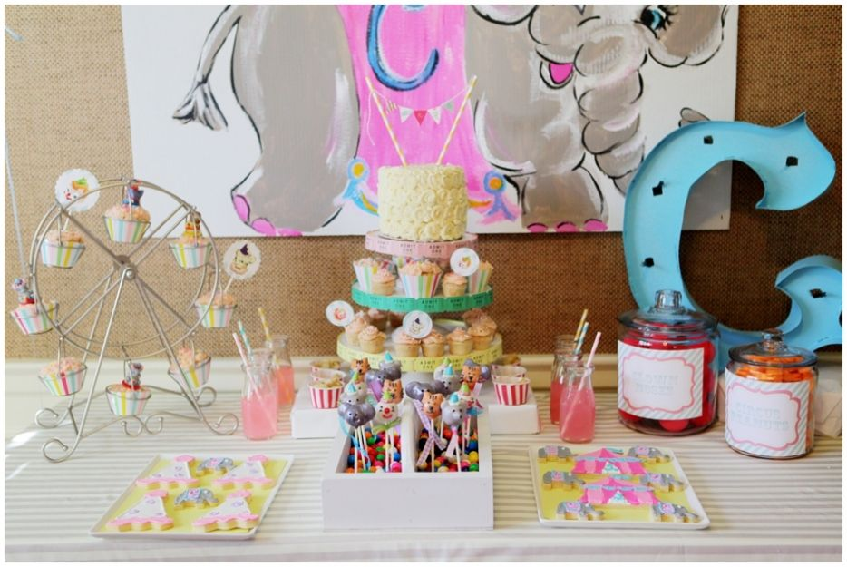 Sweet Vintage Carnival Birthday Party Priscilla Baierlein
