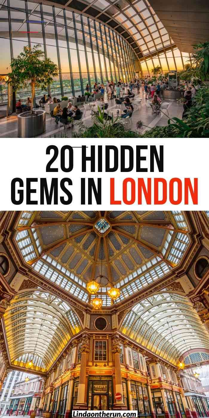 20 Hidden Gems In London Not To Miss - Linda On The Run % 20 Hidden Gems In London Not To Miss| things to do in London| Pretty places to see in London| London travel tips| London| Great Britain| United Kingdom #travel #london #unitedkingdom<br> Looking for hidden gems in London? Here I have listed 20 of my favorite hidden gems in London that I think will enhance your London visit!