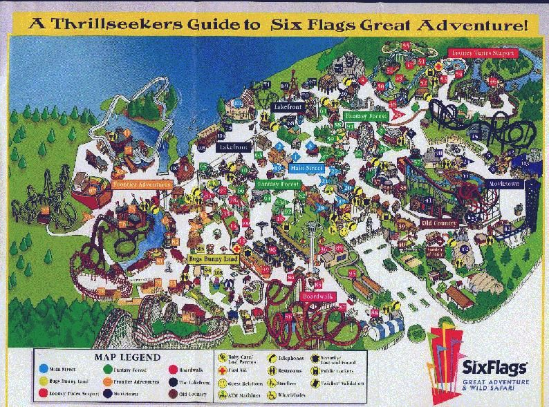 My Oldest Brother And His Family Live 15 Minutes From Six Flags New Jersey Have Good Memories Of Six F Six Flags Great Adventure Six Flags Greatest Adventure