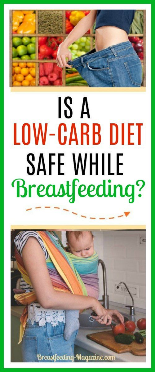 Low Carb Diet While Breastfeeding: Is It Safe for New Moms ...