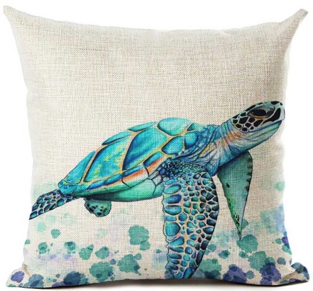 How To Choose The Best Beach Home Decor Turtle Throw Pillow