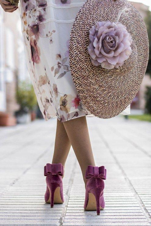 look invitada boda dia zapatos terciopelo salo madrid | couture