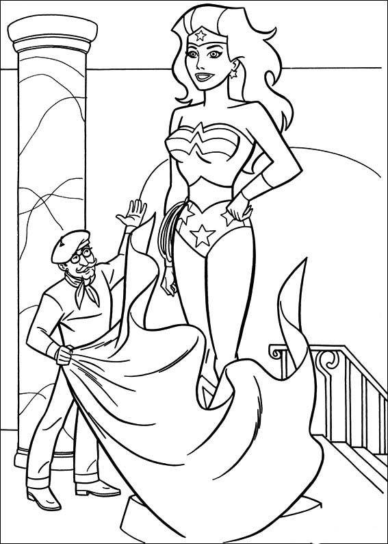 desenhos para colorir mulher maravilha 45 k pinterest wonder woman