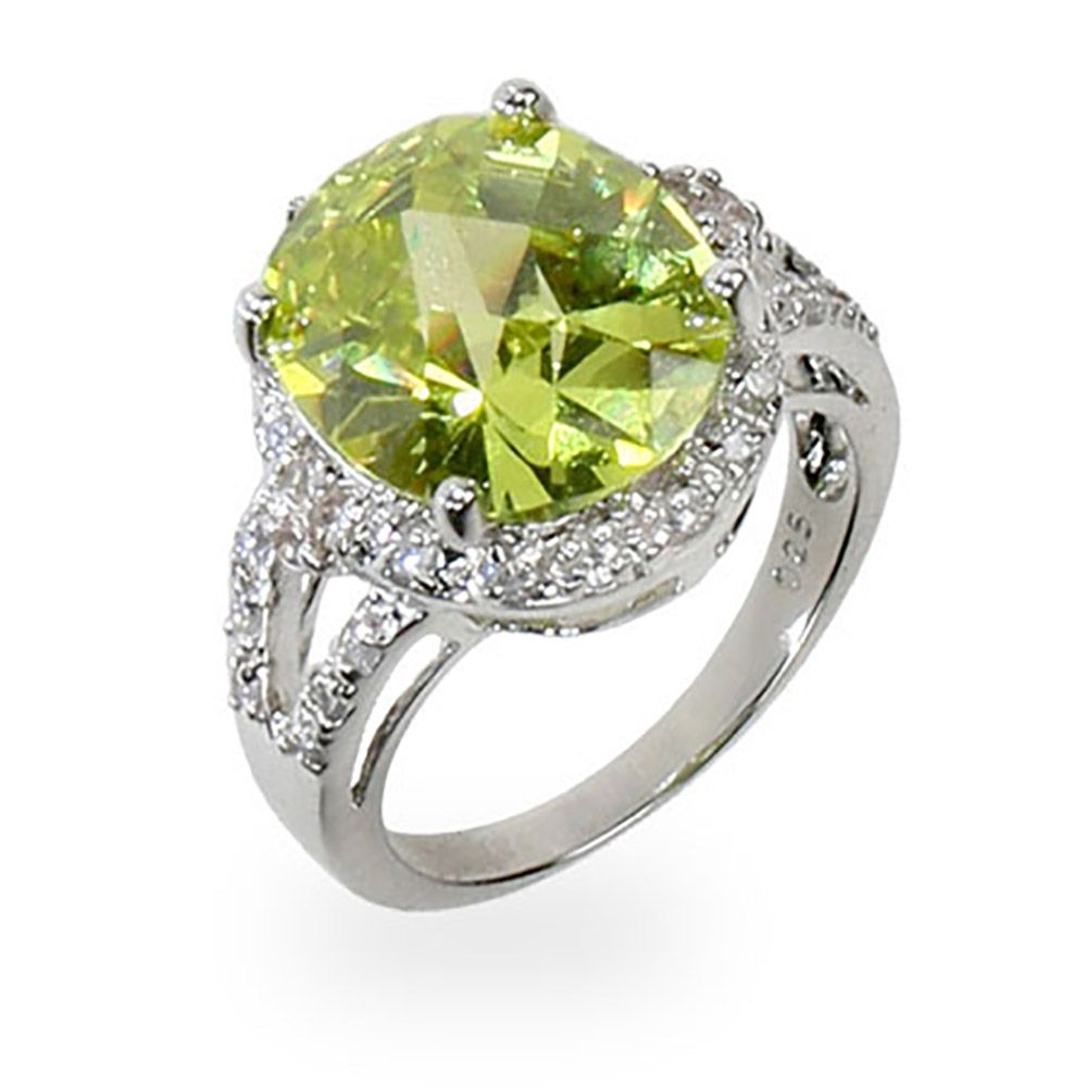 Le Green Cz Sparkling Tail Ring Eve S Addiction