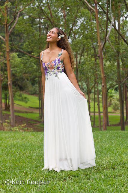 Scoop Neck Bridal Gown
