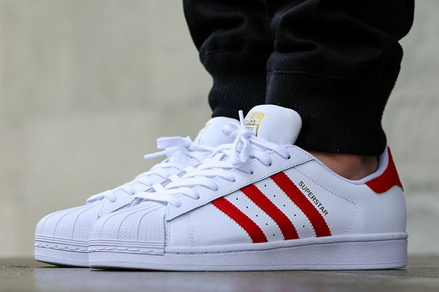 adidas Stan Smith White and Red   Adidas stan smith white Stan smith white  and Stan smith