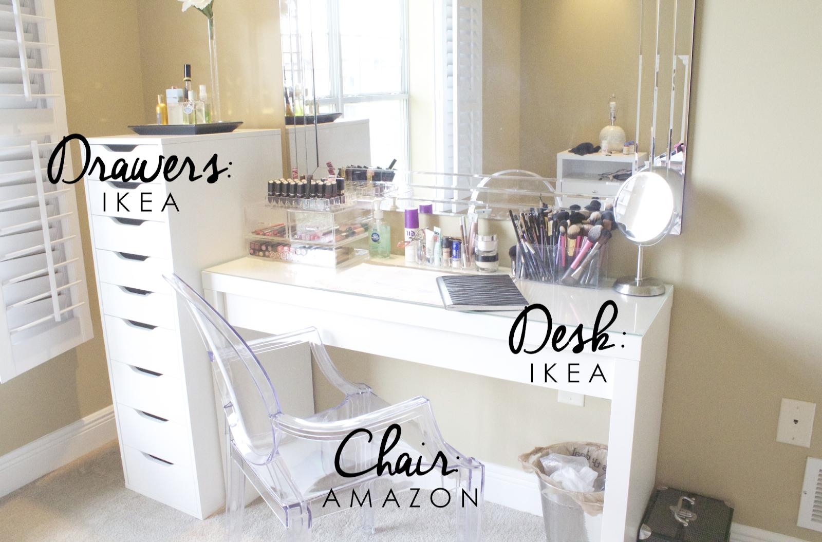 Diy Makeup Vanity Set With Lights Versus Makeup Revolution Duo Brow Definer Ikea Vanity Bedroom Vanity Set Bedroom Vanity