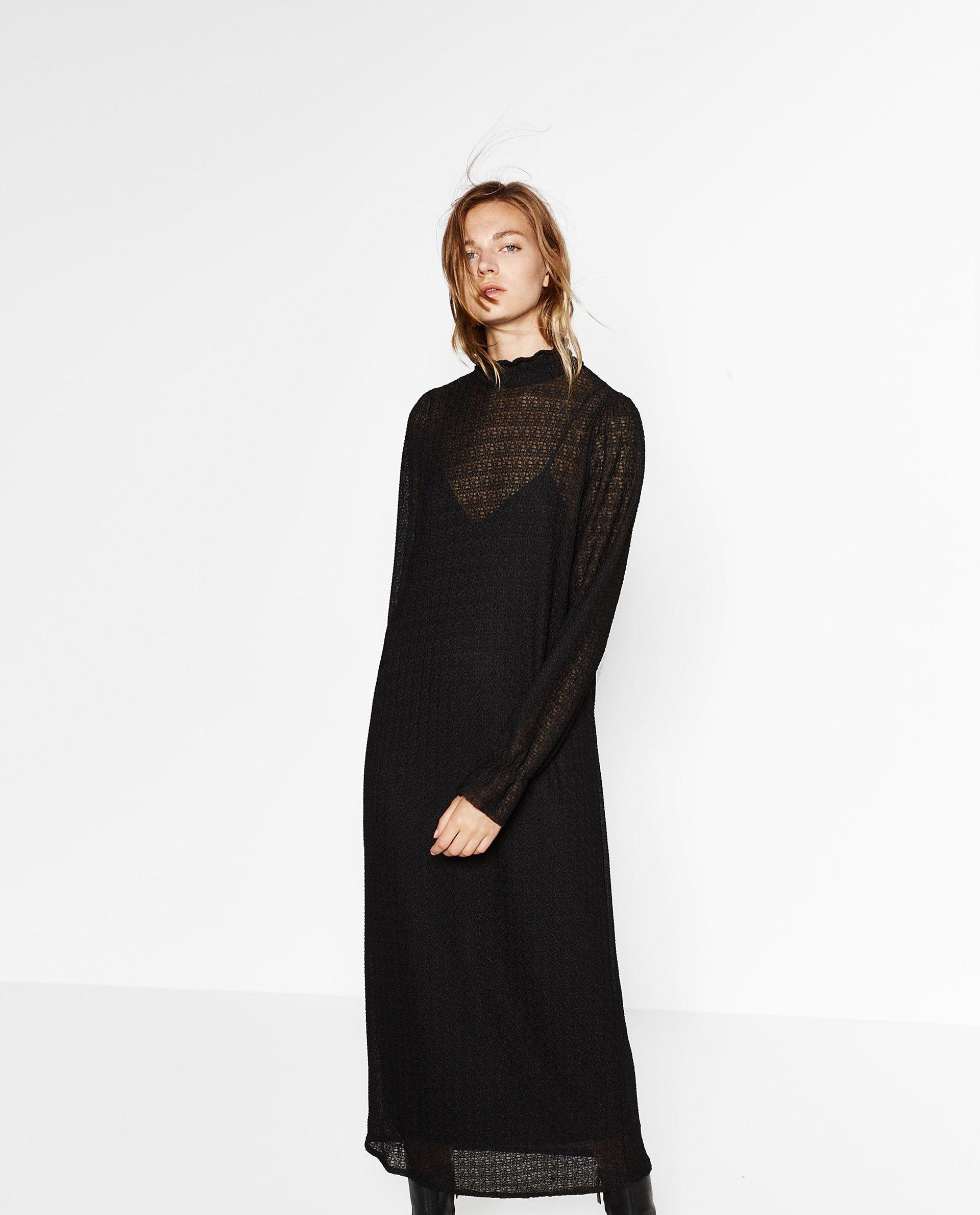 Zara femme robe trafaluc