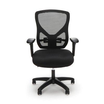 Sensational Ergonomic Adjustable Mesh Office Chair Black Ofm Cjindustries Chair Design For Home Cjindustriesco
