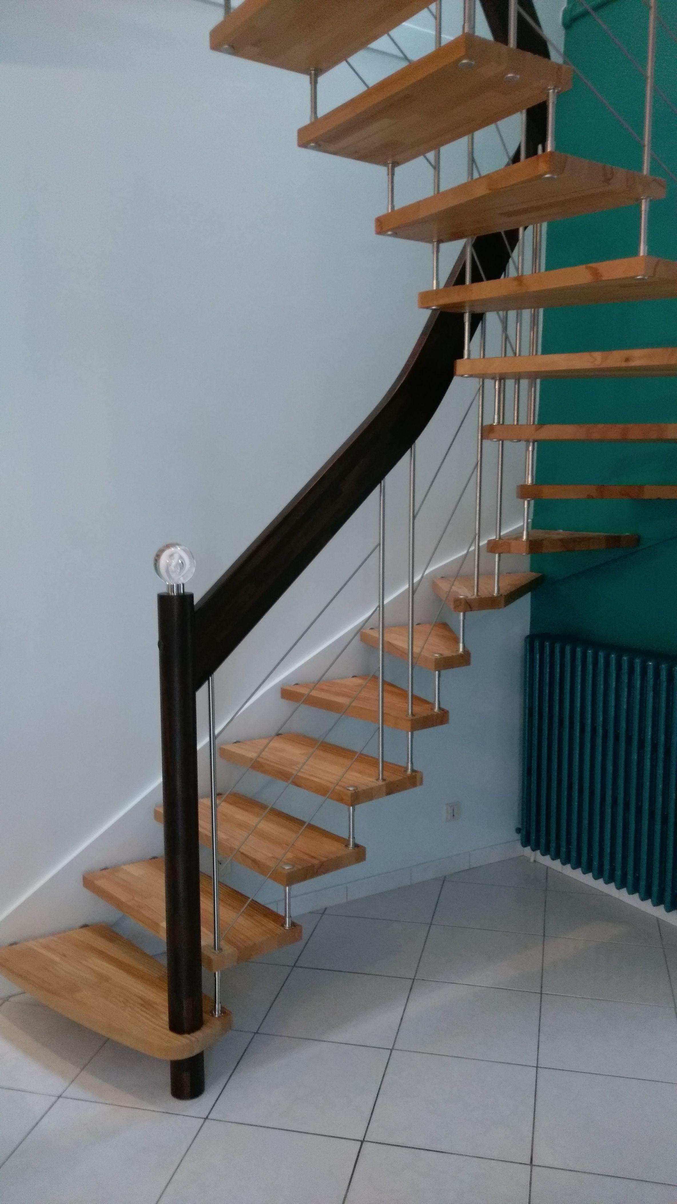 Escalier Nova R6 Avec Harpe Blanche Escalier Deco Maison
