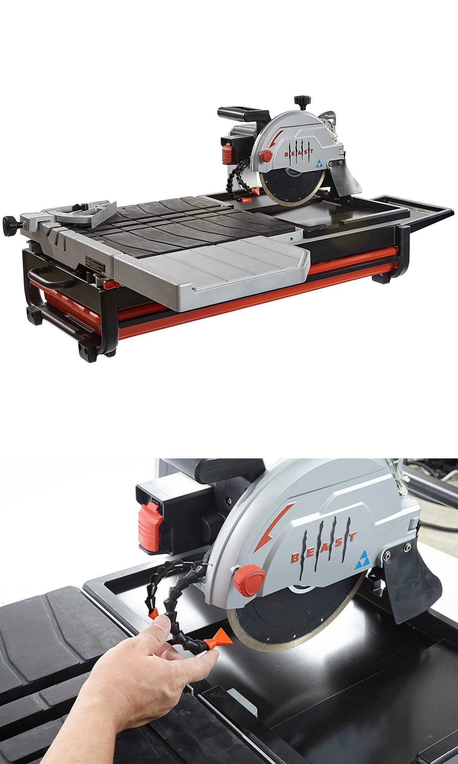 Tile Saws 122836 Lackmond Beast Professional 15 Amp Wet Tile Saw 10 Buy It Now Only 899 On Ebay Tile Saw Tile Saws Ebay