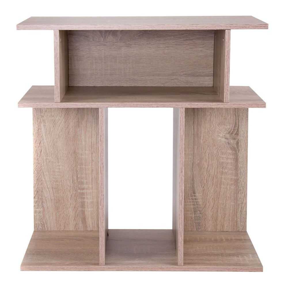 Modern bookcase end side table living room furniture nightstand